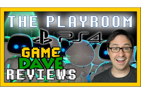 PS4 Camera The PlayRoom Review | Game Dave - YouTube