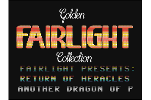 Return of Heracles for C64 cracked by Fairlight – Vintage ...