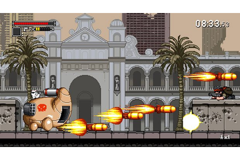 Tribute Games' Mercenary Kings funded on Kickstarter