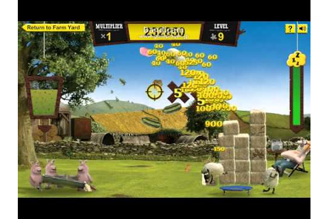 shaun the sheep - game - YouTube