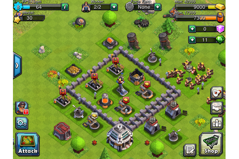 King Barbarian Clash Clans Troops ...