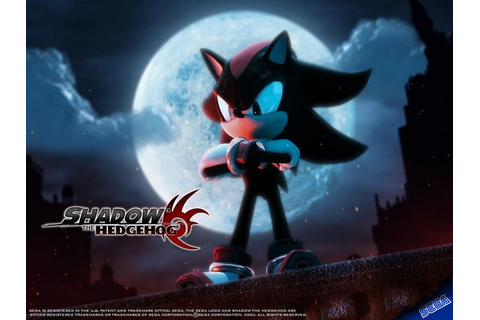 shadow the hedgehog game wallpaper