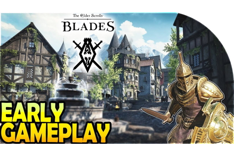 THE ELDER SCROLLS BLADES EARLY GAMEPLAY -*FREE* Looting ...