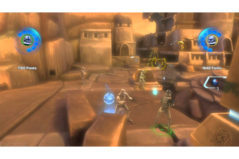Star Wars The Clone Wars: Republic Heroes CO-OP Gameplay ...