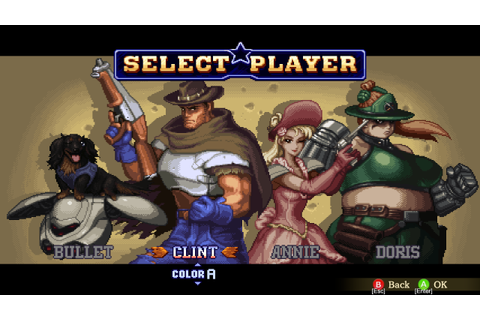 Wild Guns Reloaded Brings Western/Sci-Fi Action to PC via ...