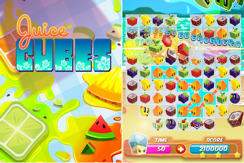 Rovio Stars releases Juice Cubes free puzzle game for ...