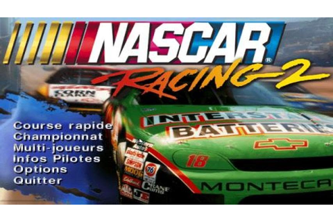 Nascar Racing 2 gameplay (PC Game, 1996) - YouTube