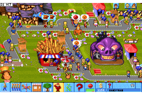 Download Theme Park - My Abandonware
