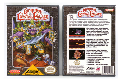 Conquest of the Crystal Palace - Nintendo NES - Custom ...