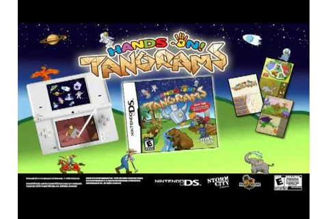 Hands On! Tangrams Gameplay DS - YouTube