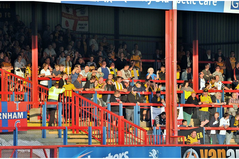 Maidstone United FC » Game gallery: Aldershot Town