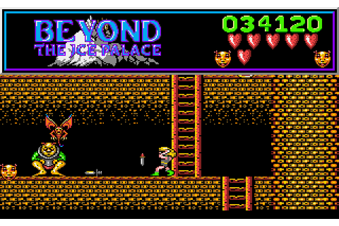 Dazeland : Jeux Amiga : Beyond the Ice Palace