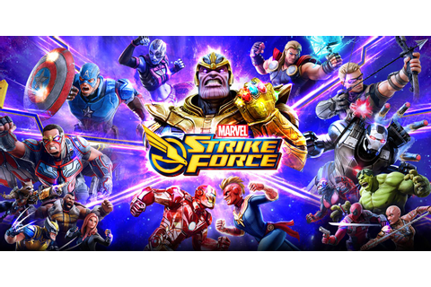 Marvel Strike Force Mobile Game Releases Falcon Avengers ...