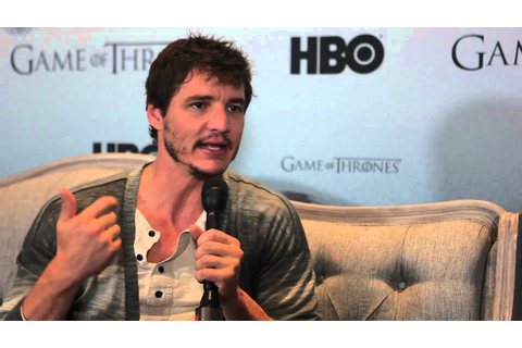 Pedro Pascal de Game of Thrones en entrevista - YouTube