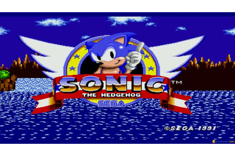 Sonic the Hedgehog gameplay (PC Game, 1991) - YouTube