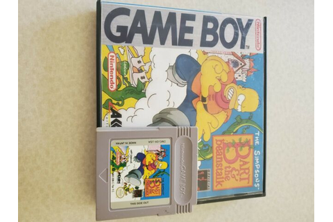 The Simpsons - Bart and the Beanstalk (Nintendo Game Boy ...