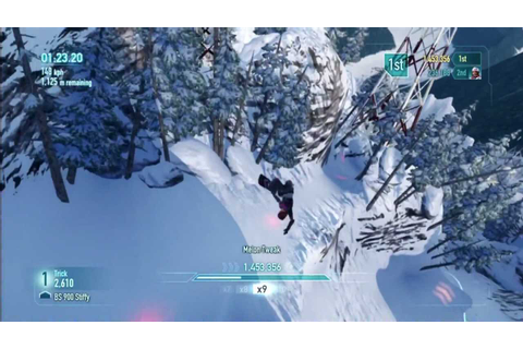 SSX 2012 *NEW* Gameplay PS3/XBOX/PC - YouTube