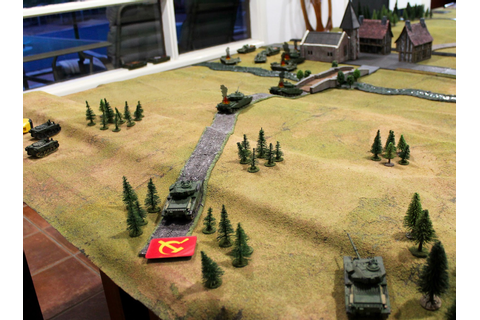 Sparker's Wargaming Blog: 'Team Yankee' 1960's style?