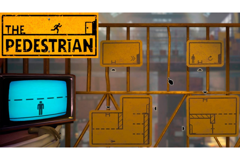 The Pedestrian #1 - Adventure game. - YouTube