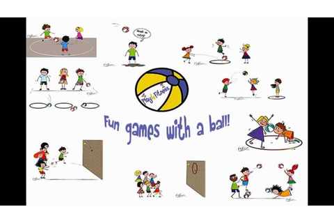 Fun ball games for children - YouTube