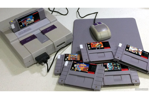 SNES Mouse Compatible Games | There's more than just Mario ...
