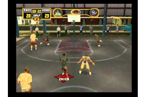 [PS2] Street Hoops Gameplay - YouTube