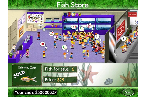 Download Fish Tycoon Game | Shark Games