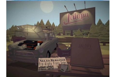 Jalopy Gameplay Fully upgraded Laika - YouTube