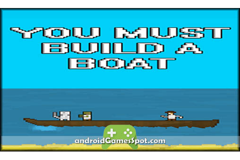 YOU MUST BUILD A BOAT Android APK Free Download