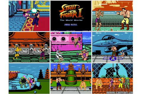 Caiman free games: Street Fighter II - The World Warrior ...