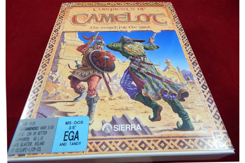 PC DOS: Conquests of Camelot: The Search for the Grail ...