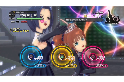 The IdolM@ster One for All - GamePlay 002 - PS3 - YouTube