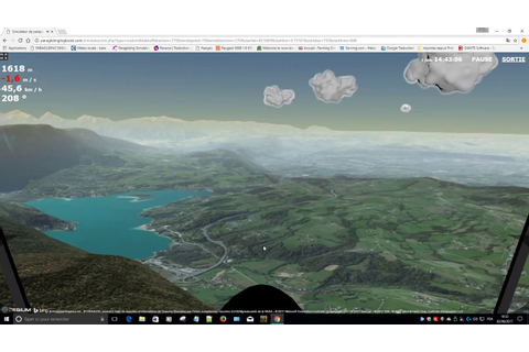 PARAGLIDING SIMULATOR - YouTube