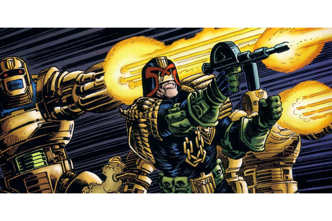 There's a Judge Dredd Game in the Works | Screen Rant