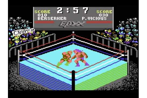 C64 - Championship Wrestling - YouTube