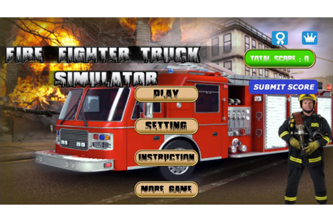 FIRE TRUCK SIMULATOR APK Download - Free Simulation GAME ...
