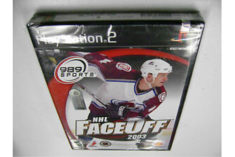 NHL FaceOff 2003 (Sony PlayStation 2) BRAND NEW FACTORY ...