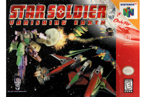 Star Soldier Vanishing Earth Nintendo 64 Game