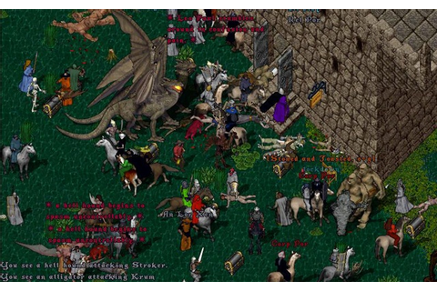 "Good Old Games#2 – Ultima Online: ""Second Age"" – Wy IndieG4m3z"