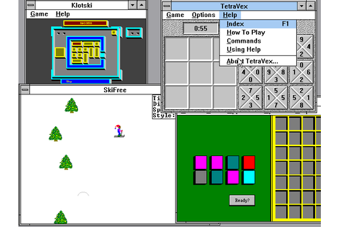 Microsoft Entertainment Pack 3 (1991) Win3.1 game
