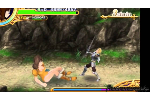 Seven Deadly Sins 3DS Game Unjust Sin Diane Gameplay ...