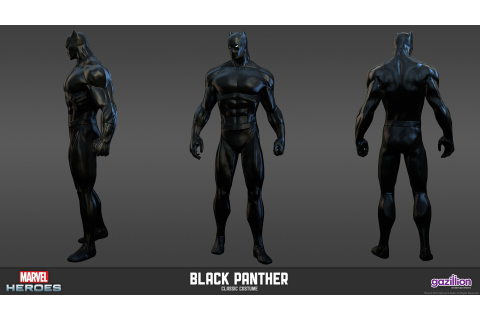 Black Panther - Classic Costume | Marvel Heroes Model ...