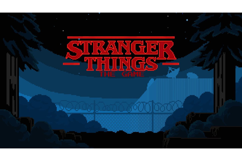 Stranger Things: The Game - Release Trailer - YouTube