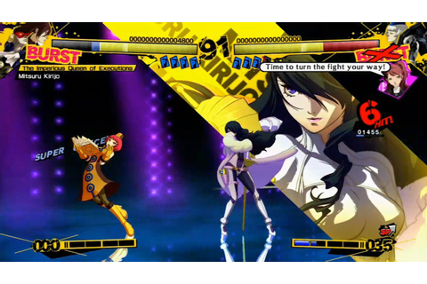 Persona 4 Arena gameplay - YouTube