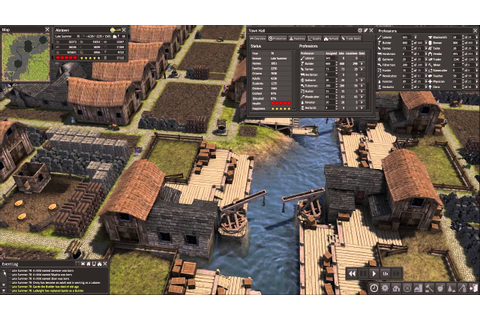 Babyboom in Banished - City building game - YouTube