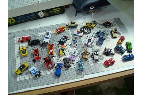 Homemade Car Wars Figures by gmfate | War, Tabletop board ...