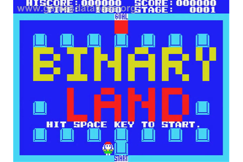 Binary Land - MSX - Games Database