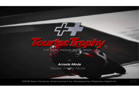 Tourist Trophy - The Real Riding Simulator (USA) ISO