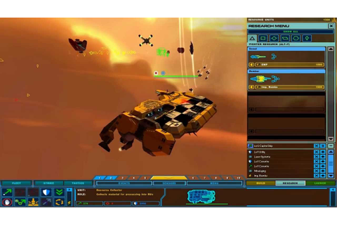 Homeworld 2 Vaygr gameplay - Skirmish game - YouTube