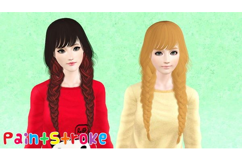 Raonjena`s 21 Two huge braids with bangs hairstyle ...